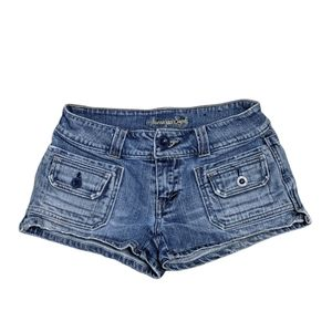 American Eagle Size 2 Jean Cargo Style Shorts